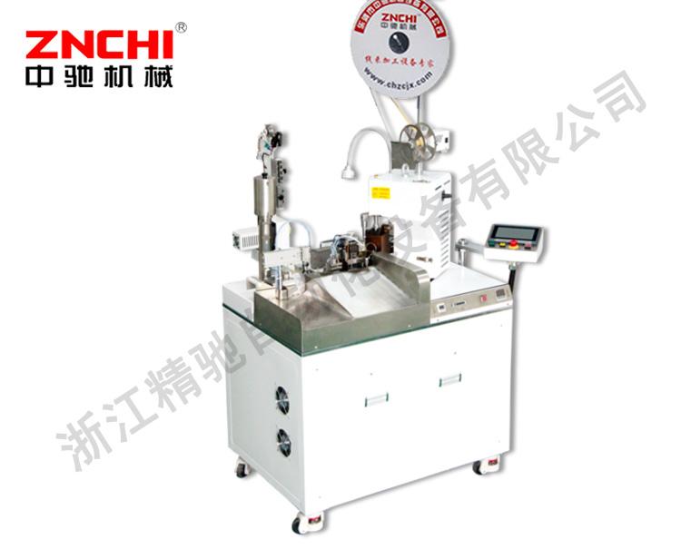 ZC-01Z全自动单头扭线沾锡机(单压单沾)